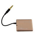 De alta calidad 3.5mm samall de audio bluetooth transmisor 2014 en