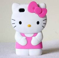 custom hello kitty silicone phone case