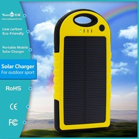 New product portable waterproof solar phone charger for apple 6