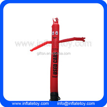 high quality 3meters to 10m custom logo advertising dancing man inflatable sky tube air dancer