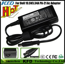 19.5v 3.34a 65w for Dell PA-21 notebook power supply