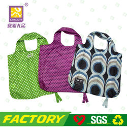 Recycled foldable shopping bag polyester