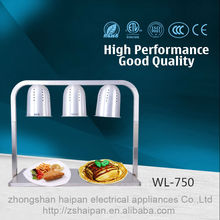 Good price hot sale buffet electric equipment 3 bulb large electric food warmer food warmer pot