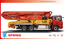High quality hot sale tells brand concrete pump truck