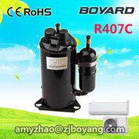 top brand rotary compressor R407c rolling piston compressors for air conditioner