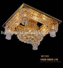 Unique Hight quality Luxury crystal ceiling lamp for hotel