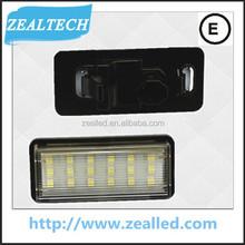 18SMD for Land Cruiser LED license plate light for Toyota 12V DC For car LED goods