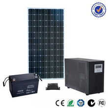 la tecnología avanzada 48v 20a ip65 ce solar para el hogar generater sistema