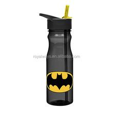 LFGB standard BPA free 25oz Tritan sport water bottle with straw