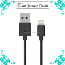 MFi certified 8 PIN USB Type usb data cable lightning sync cable for iphone 6