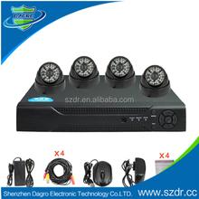 New arrival 720tvl cmos home security wireless 4ch cctv dvr kit
