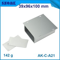extruded aluminum material box enclosure case with anodizing and panels