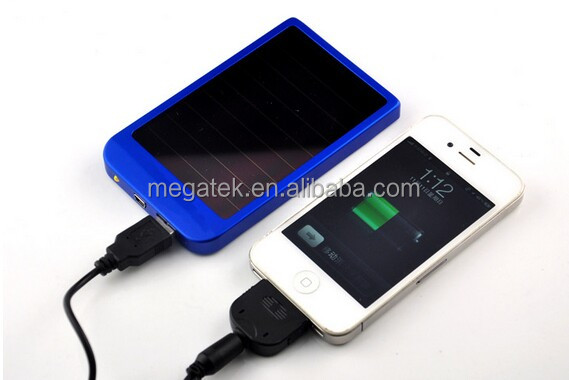 Universal portable Solar charger for iphone ipad smart phones