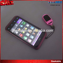 OEM Promotion gift 4in1 stylus pen+ horn stand+screen clear cloth+dustproof for iPhone5/sumsung s3/s4/htc/mobile phone