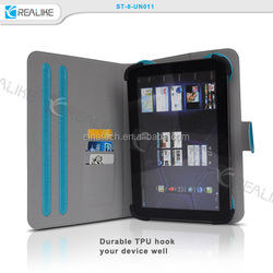 smart cover for Nokia N1 ,folio rotate stand leather case for nokia n1,with card slots