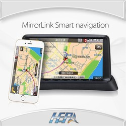 2015 Wholesale 7 inch gps with backup camera and bluetooth