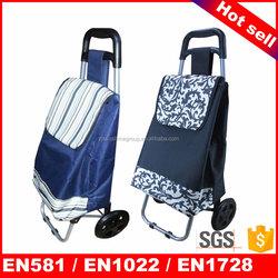 Shopping trolley canvas travel bag hot sale