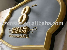 Aluminum WALL SIGN FOR OFFICE