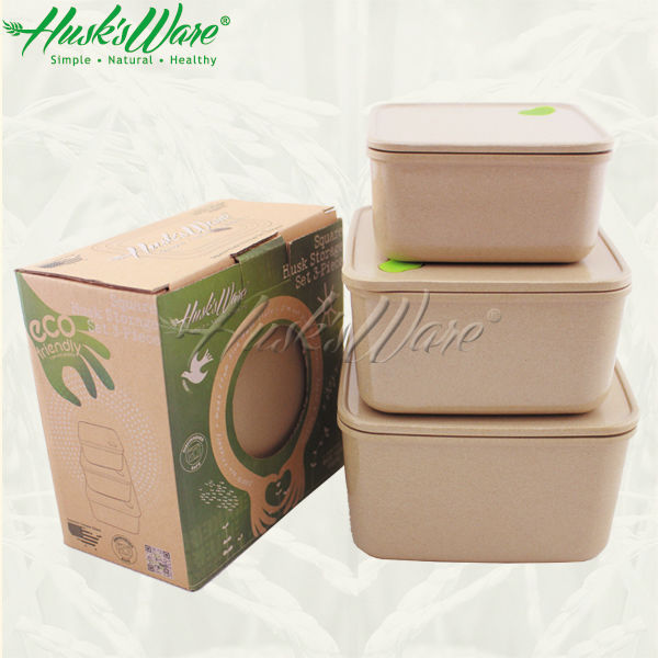 Superior Non Plastic Heat Resistant Eco Bento Lunch Box For Food Storage ...