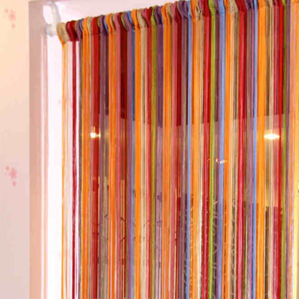 rainbow string curtain with multi color buy rainbow