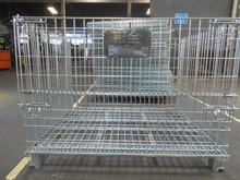 folding steel wire storage cage