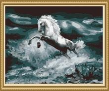40*50cm sea landscape oil painting, home decoration items