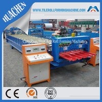 Colored Steel Zinc Steel Plate Roll Forming Machine
