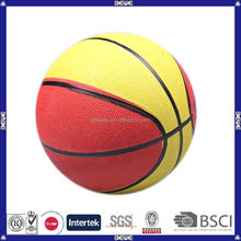 2014 new wholesale cheap customized rubber mini basketball