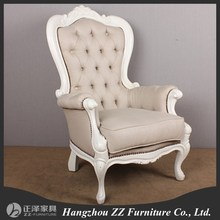 antique upholstery tufted button wedding royal throne chairs