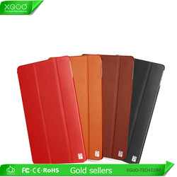 2016 new smart tablet PC protective pure leather case for ipad mini cover