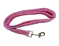 Pink reflective dog leash western dog collars