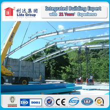 design and manufacture long-span steel structural buildings