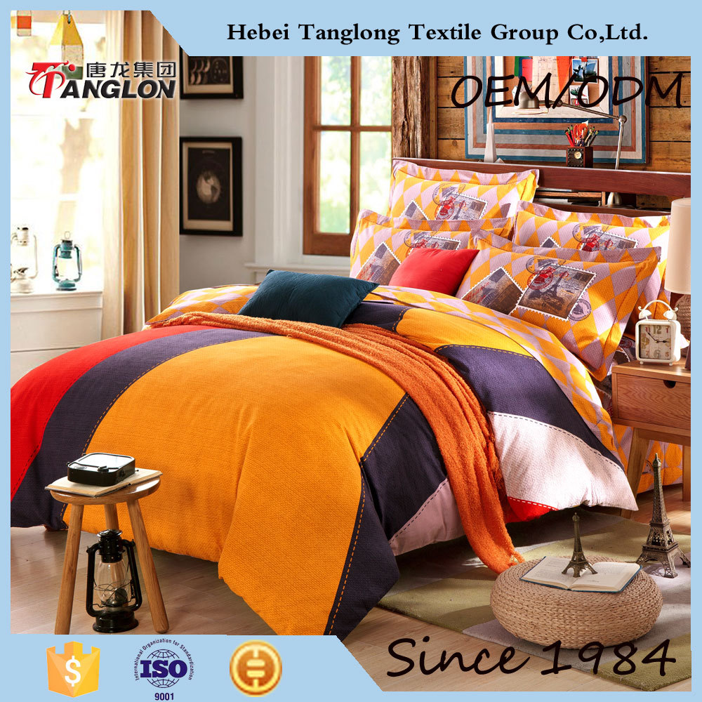 Wholesale Bright Color forter Sets Bedding plete