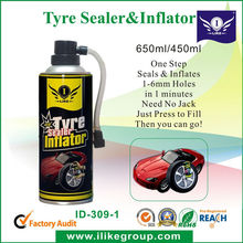 Tubeless Tire Sealer & Inflator (car care products )