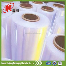 Good comment PE pallet stretch wrap/logistics wrapping film/plastic wrapping film