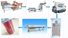 Automatic aerosol/beverage/food can packing machine/equipments
