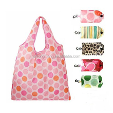 OEM New Eco Shopping Travel Shoulder Bag Pouch Tote Handbag Folding Reusable Bags