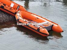 fabbrica fornitura diretta 14 piedi barca a remi liya pavimento in alluminio barca pvc
