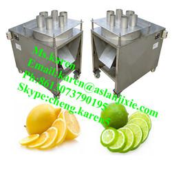 fruit cutting machine/lemon cutting machine/kiwi slicing machine