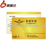Series Number Punch Plastic PVC Business Card
