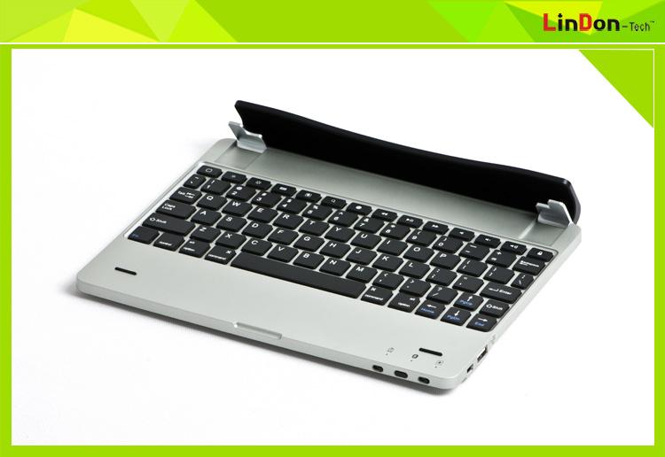 Good design 4000mAh battery built-in bluetooth wireless keyboard for iPad 2 3 4 BK-M6