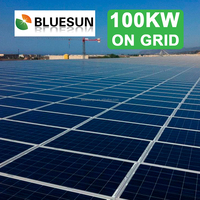 Industrial application 100kw solar power system for factory
