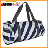 Stripe shaped wholesale ladies travel bags