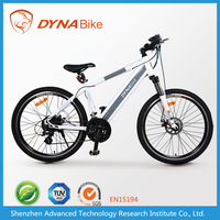 High quality EEC EN15194 DYNABike brand big tire electric mountain bike with lithium battery