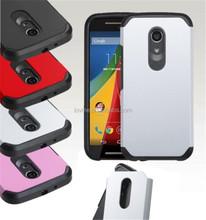 Hybrid ShockProof Protective Hard Case Cover For Motorola Moto G 2 2nd XT1064