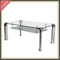 metal furniture glass center table modern furniture CT002A