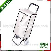 folding trolley luggage for promotion pink promotional reusable shopping bags