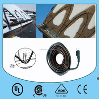 HIGH QUALITY heat wire in the roof &gutter de-icing cables for North America and Europe