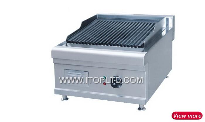Commerciale en acier inoxydable restaurant gaz ou for Grill cuisine professionnelle