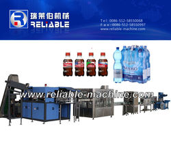 3-in-1 Automatic Coco Cola Bottle Filling Line for Carbonated Filling Line
